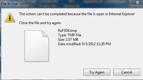 Open TMP File