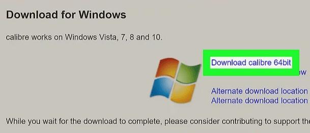 Open CBR files in Windows