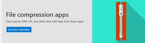 File Compression Apps in Microsoft Store